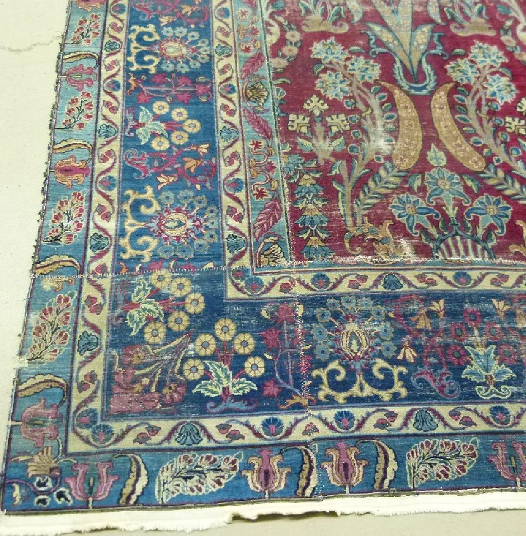 ANTIQUE SAROUK ORIENTAL CARPET (RE-SIZED) - 3