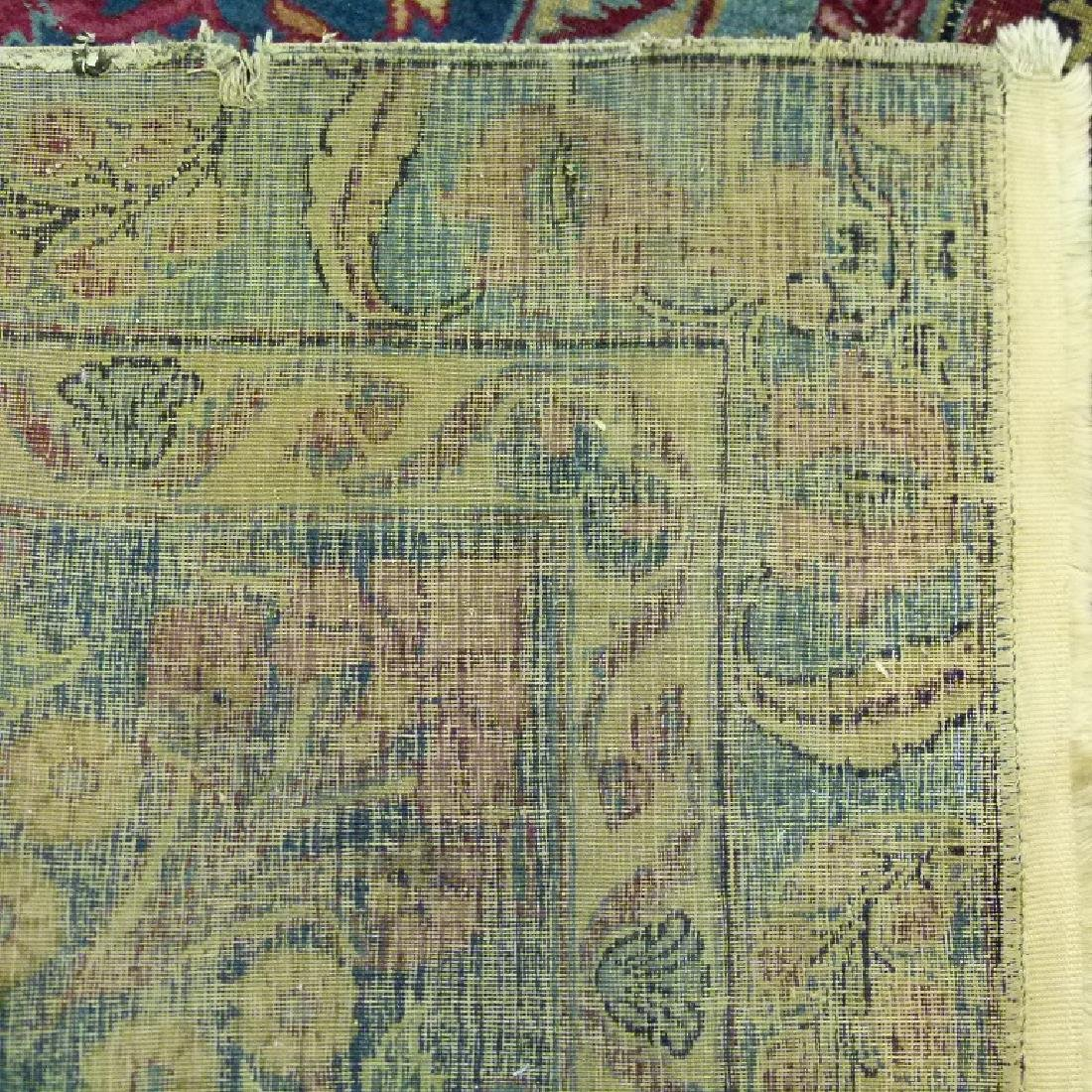ANTIQUE SAROUK ORIENTAL CARPET (RE-SIZED) - 5