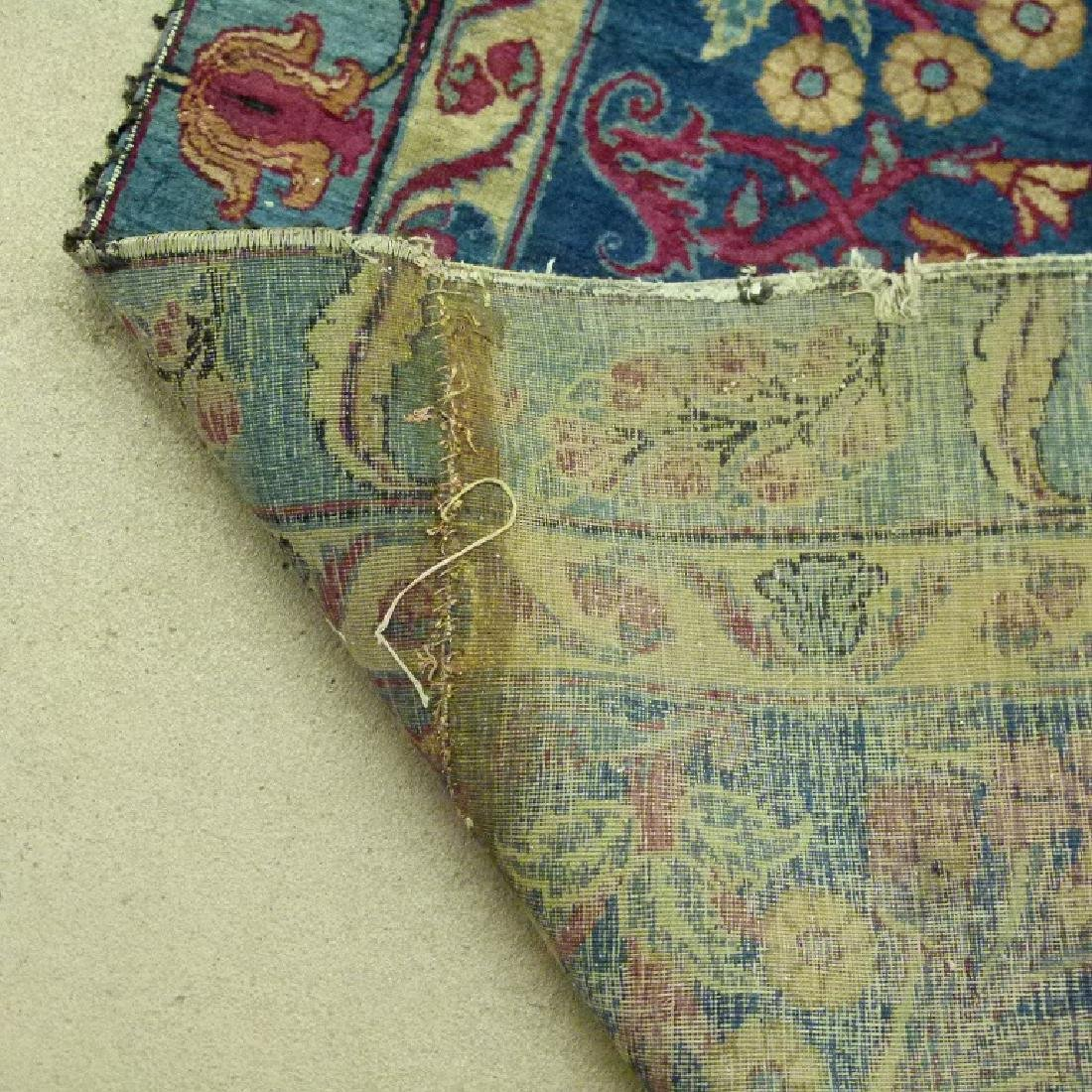 ANTIQUE SAROUK ORIENTAL CARPET (RE-SIZED) - 6