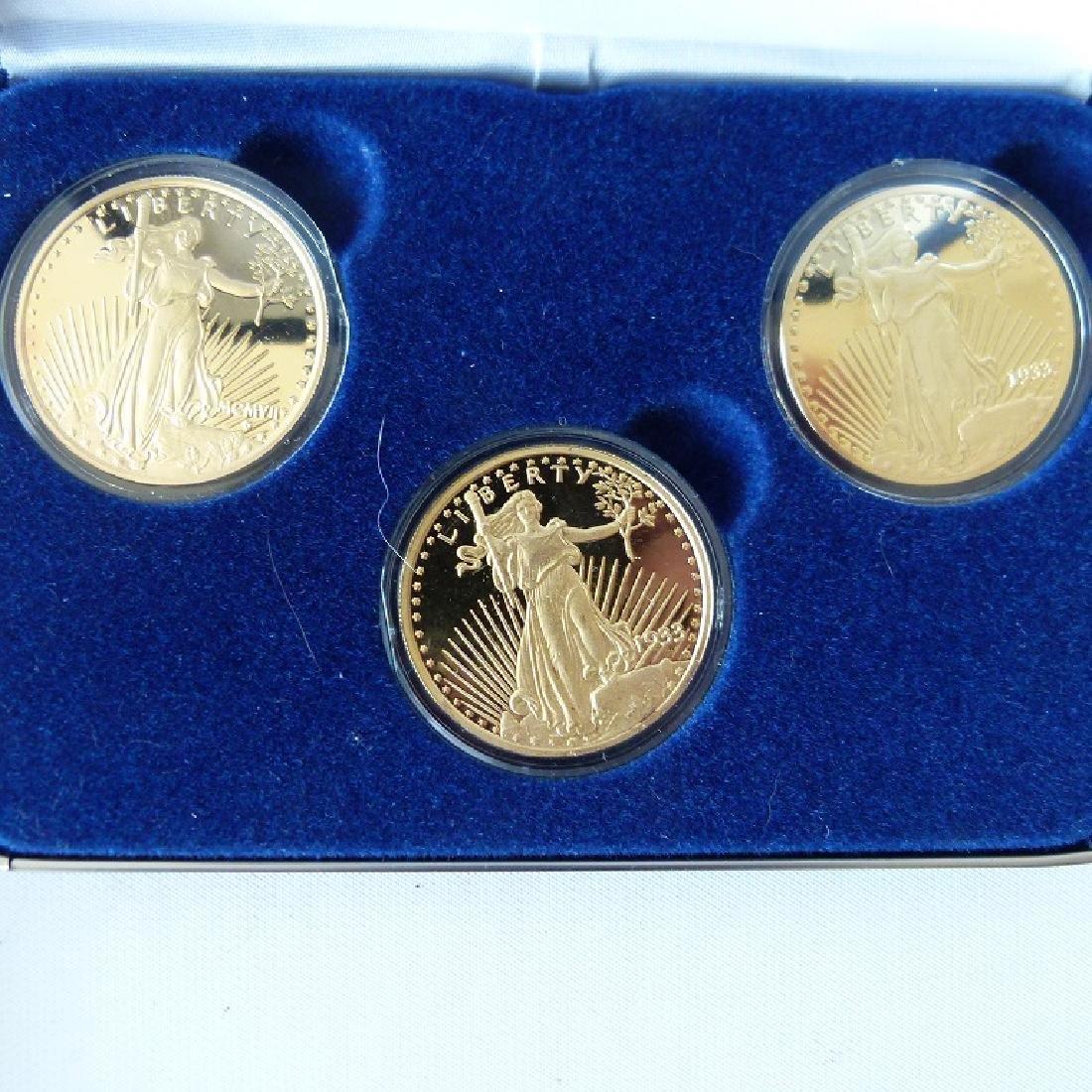 LOT (12) CASED SETS US COINS - 2
