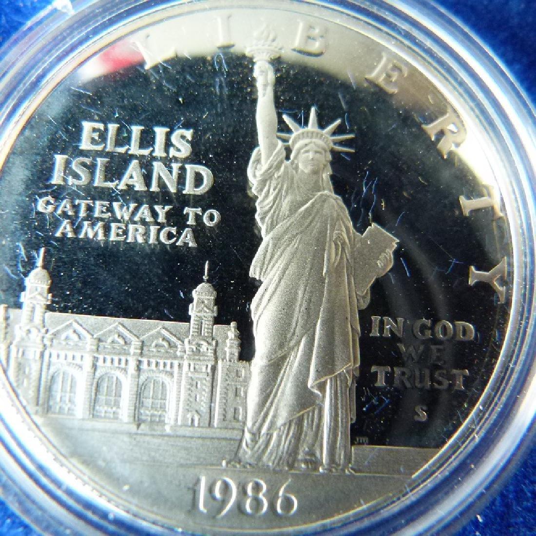 LOT (12) CASED SETS US COINS - 6