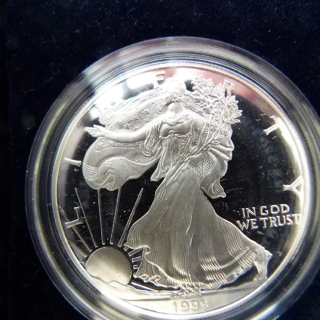 LOT (12) CASED SETS US COINS - 8