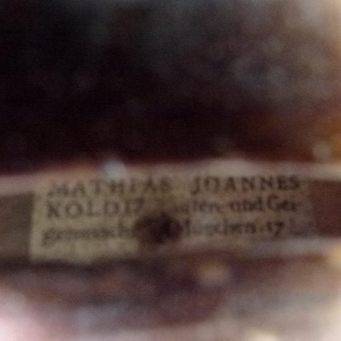 GERMAN VIOLIN W/ LABEL OF MATHIAS JOANNES - 6