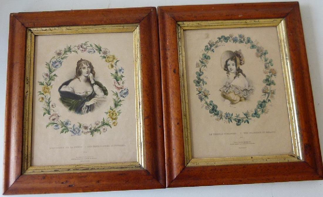 PAIR H/C LITHOS, THE SHAMROCK/THE WINDFLOWER
