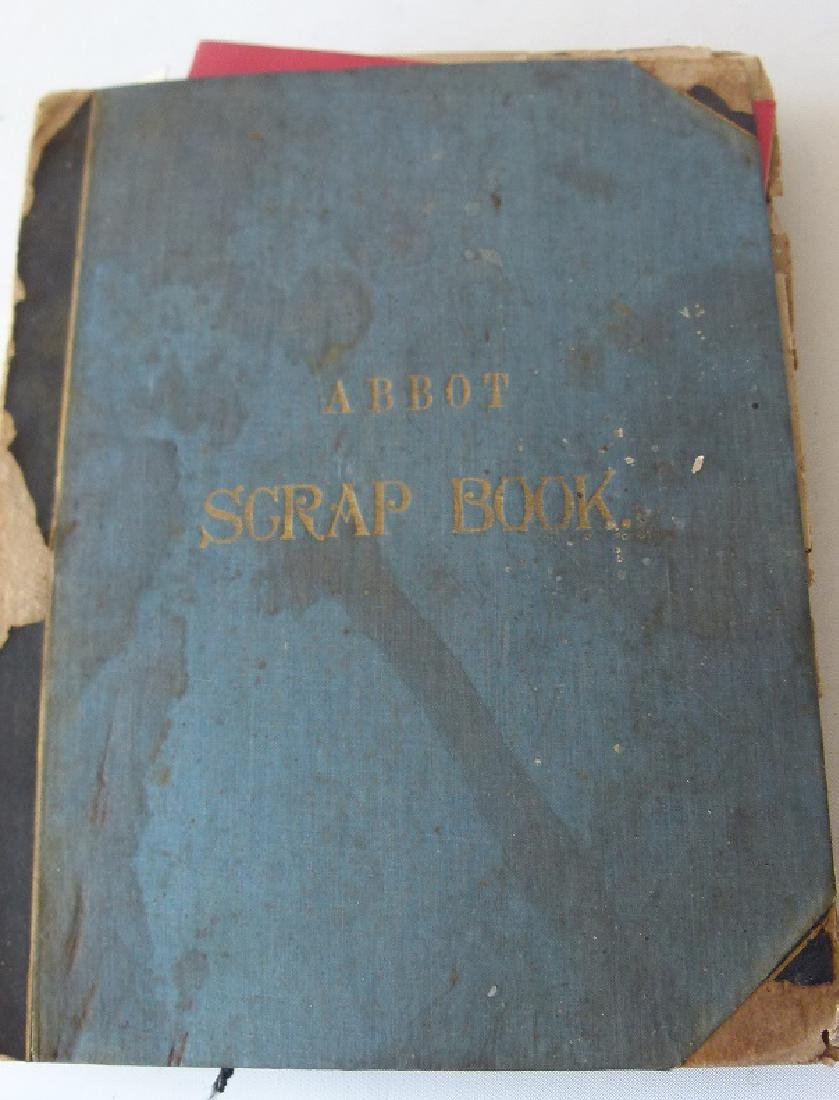 ABBOT ACADEMY SCRAP BOOK