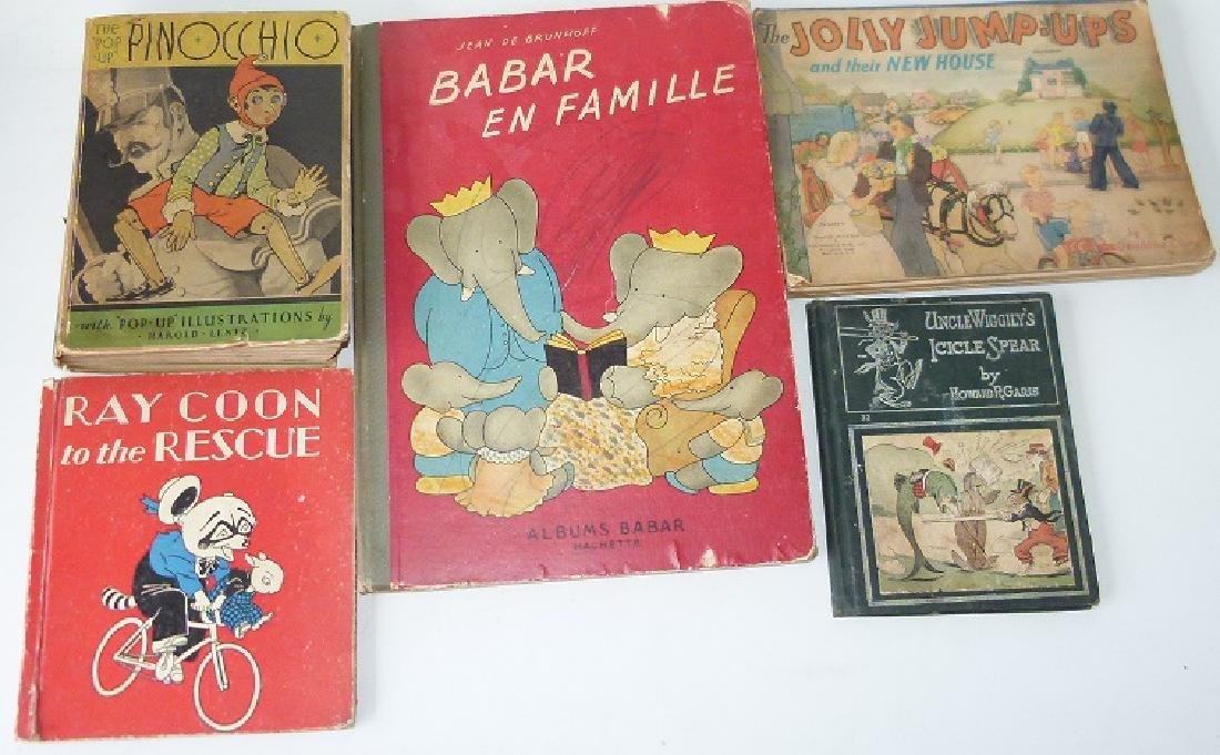 LOT (5) VOLS. EARLY CHILDS BOOKS
