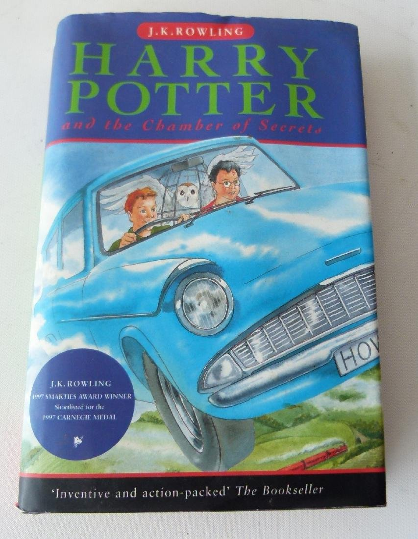HARRY POTTER & THE CHAMBER OF SECRETS FIRST ED.
