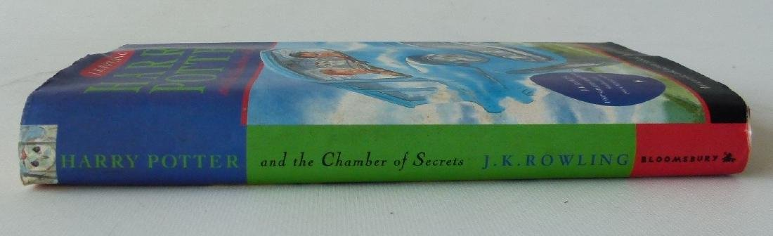 HARRY POTTER & THE CHAMBER OF SECRETS FIRST ED. - 2