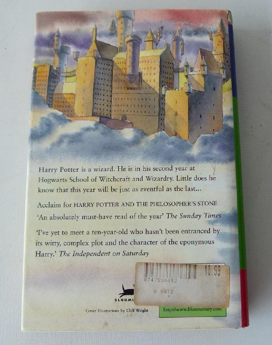 HARRY POTTER & THE CHAMBER OF SECRETS FIRST ED. - 3