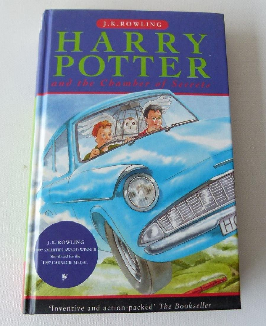 HARRY POTTER & THE CHAMBER OF SECRETS FIRST ED. - 5