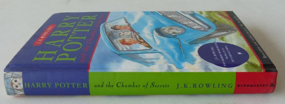 HARRY POTTER & THE CHAMBER OF SECRETS FIRST ED. - 6