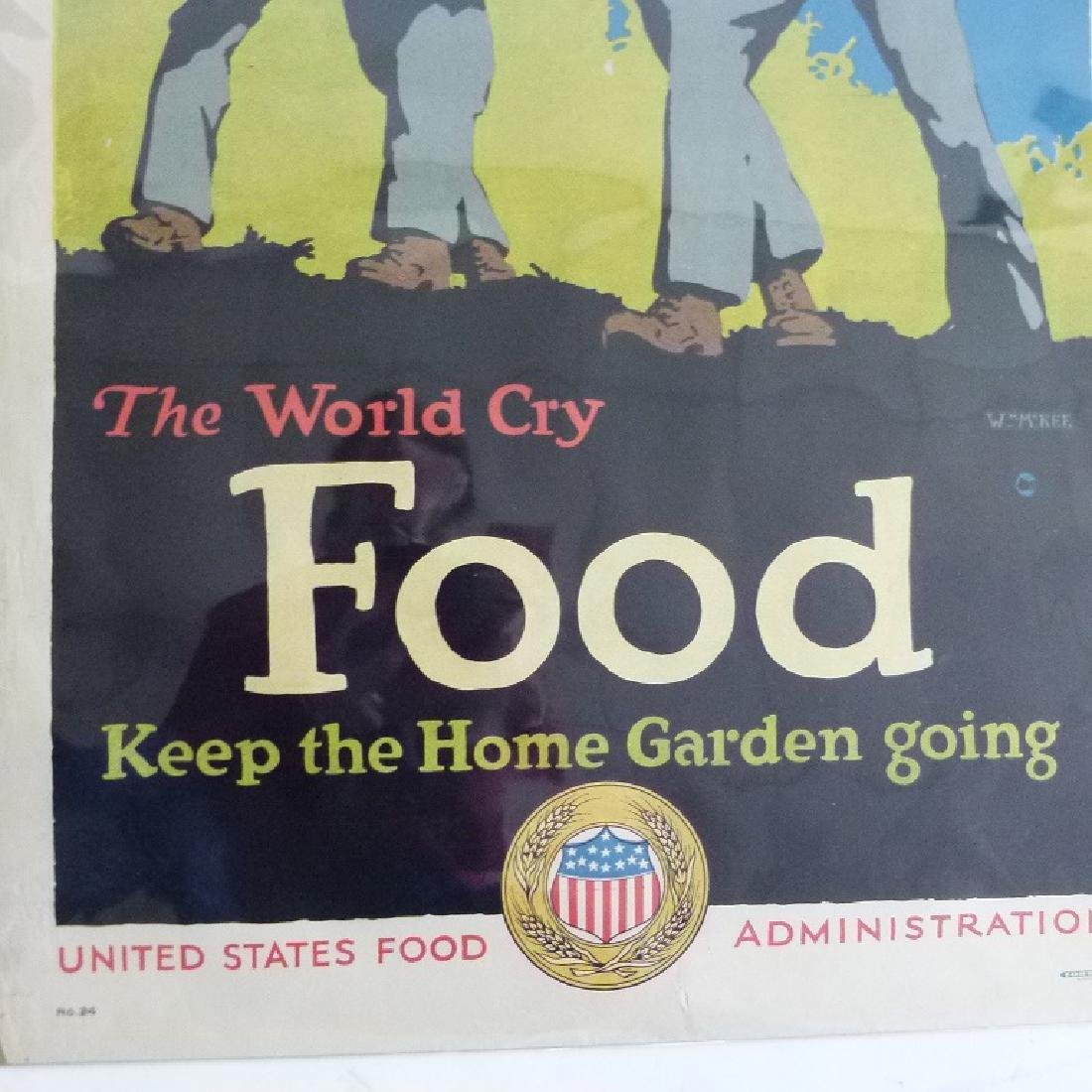 """LOT (2) LITHOS-POSTERS """"FOOD"""" - 4"""