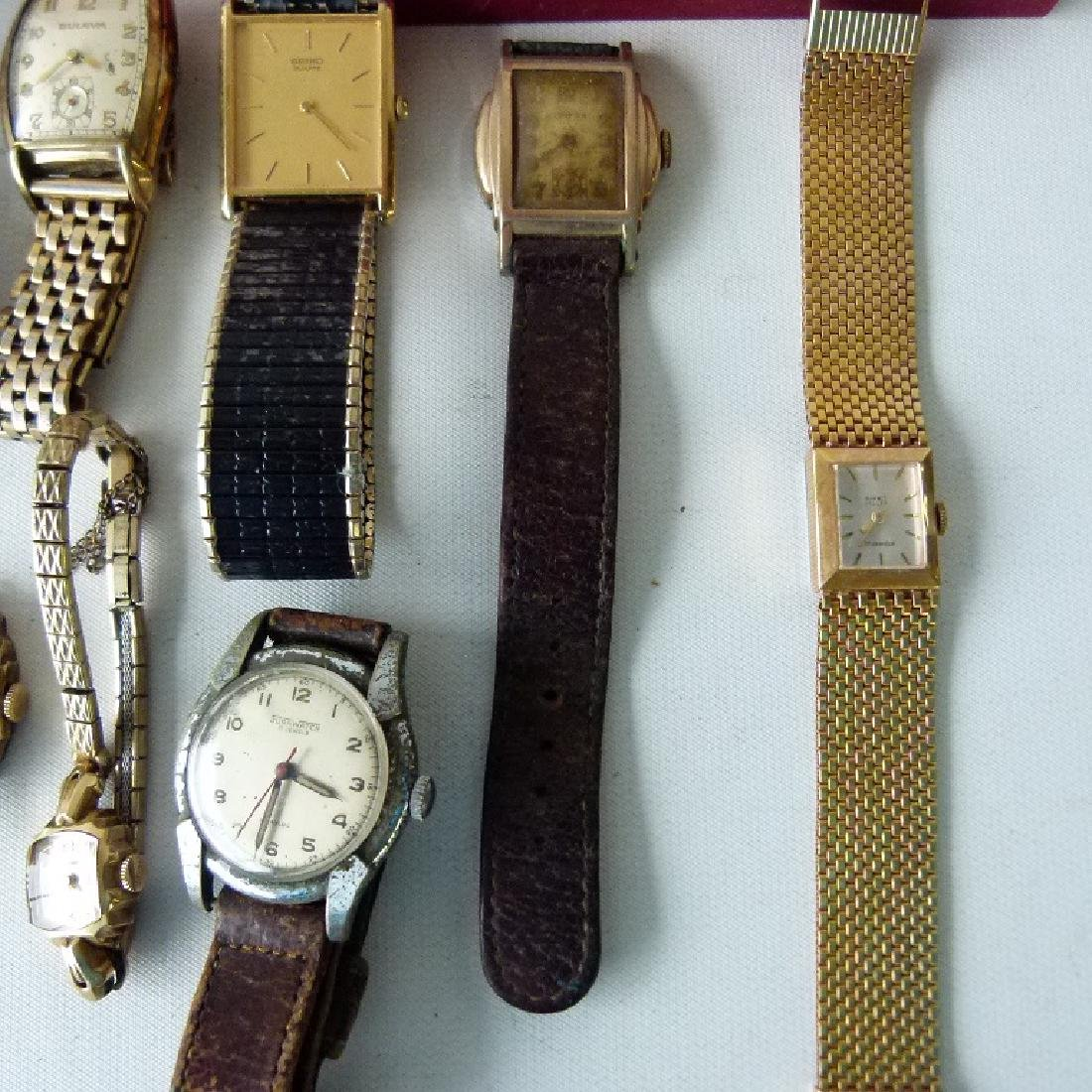 LARGE LOT ASSORTED VINTAGE WRIST WATCHES - 2