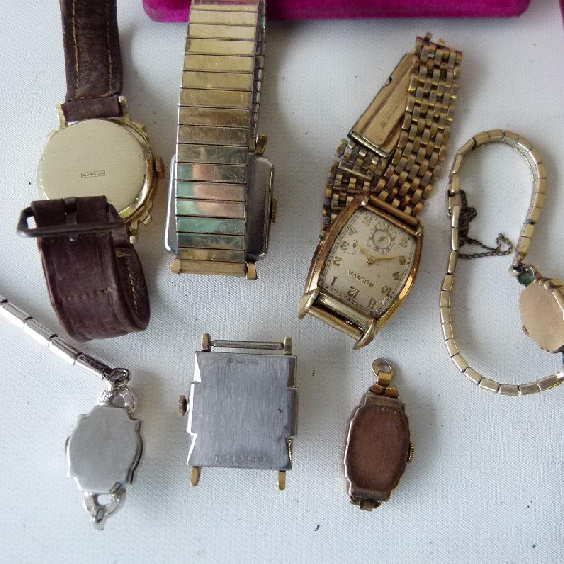 LARGE LOT ASSORTED VINTAGE WRIST WATCHES - 4