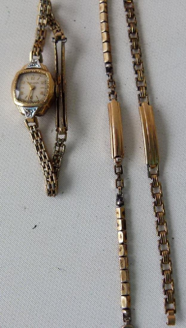 LARGE LOT ASSORTED VINTAGE WRIST WATCHES - 9