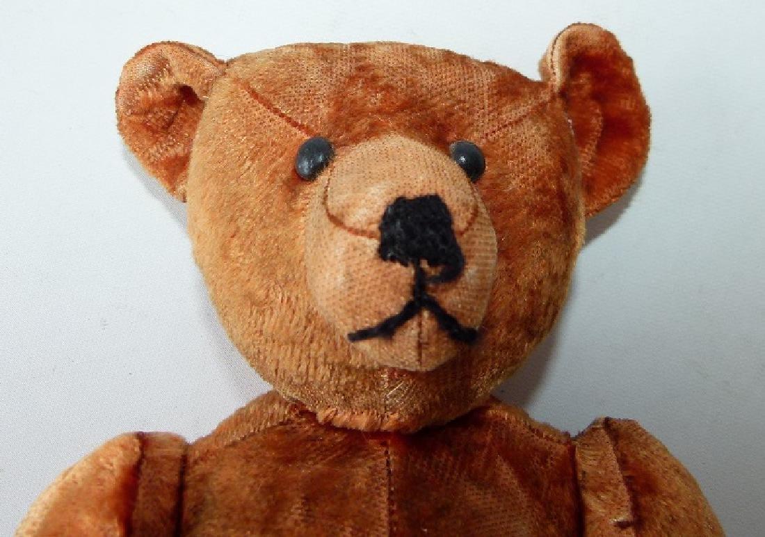 VINTAGE JOINTED TEDDY BEAR, CINNAMON - 2