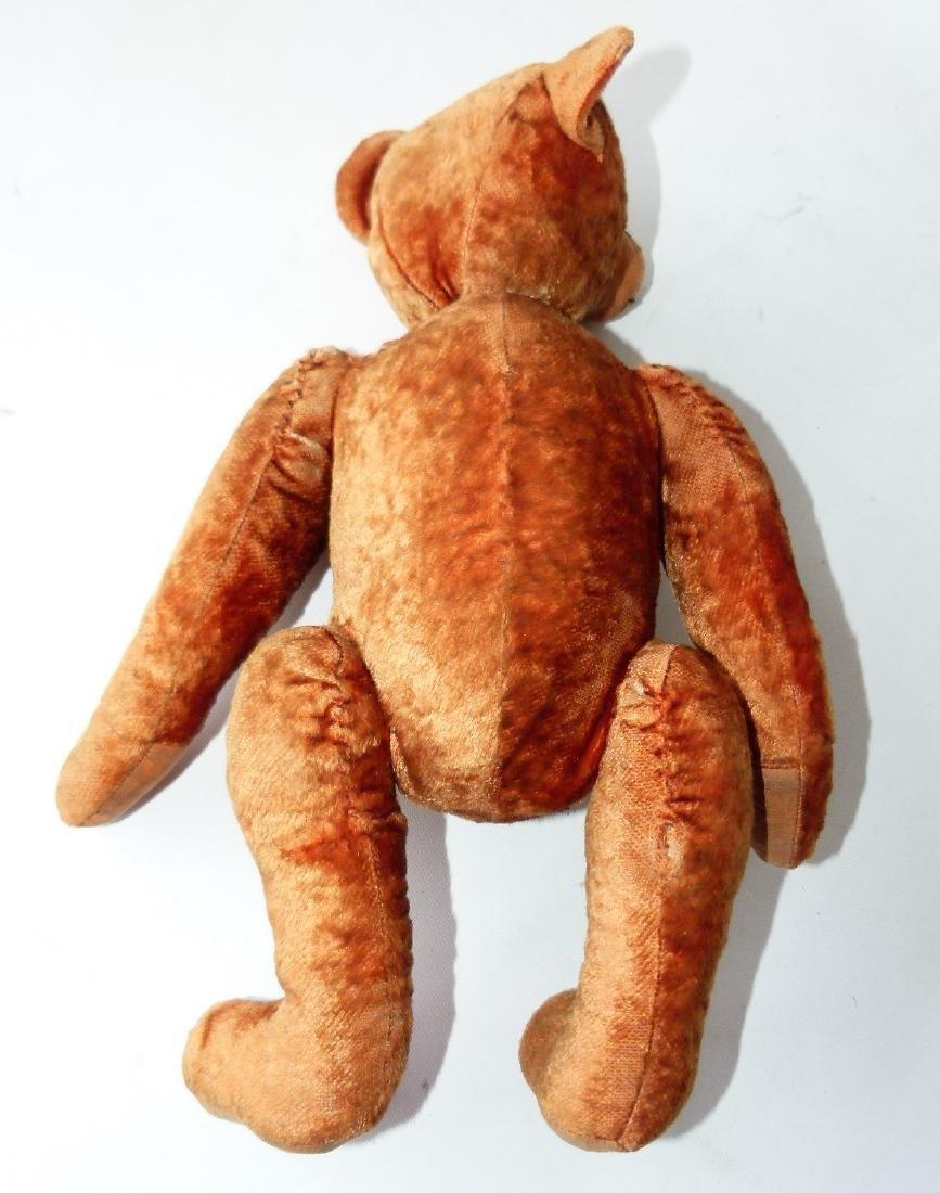 VINTAGE JOINTED TEDDY BEAR, CINNAMON - 7