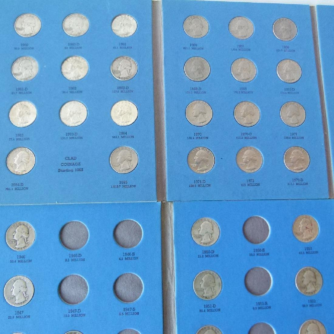 LOT ASSORTED US COIN BOOKS - 5
