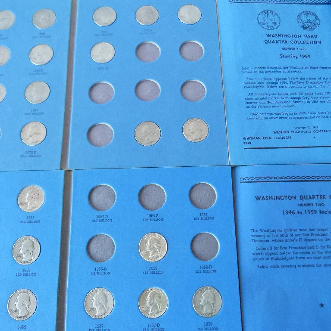 LOT ASSORTED US COIN BOOKS - 8