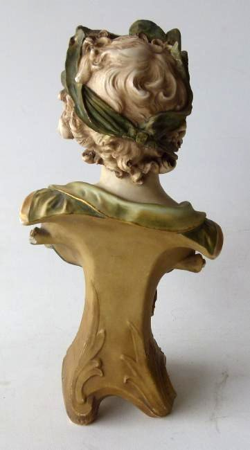 LOT (2) FRENCH BISQUE PORCELAIN FIGURINES - 6