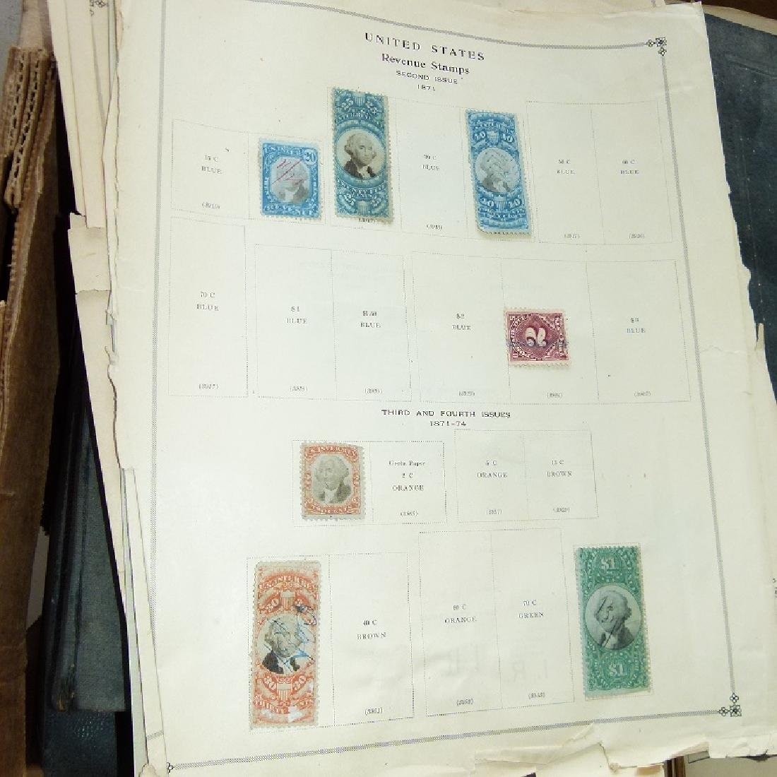 LARGE LOT ASSORTED STAMP STOCK BOOKS, MOSTLY US - 2