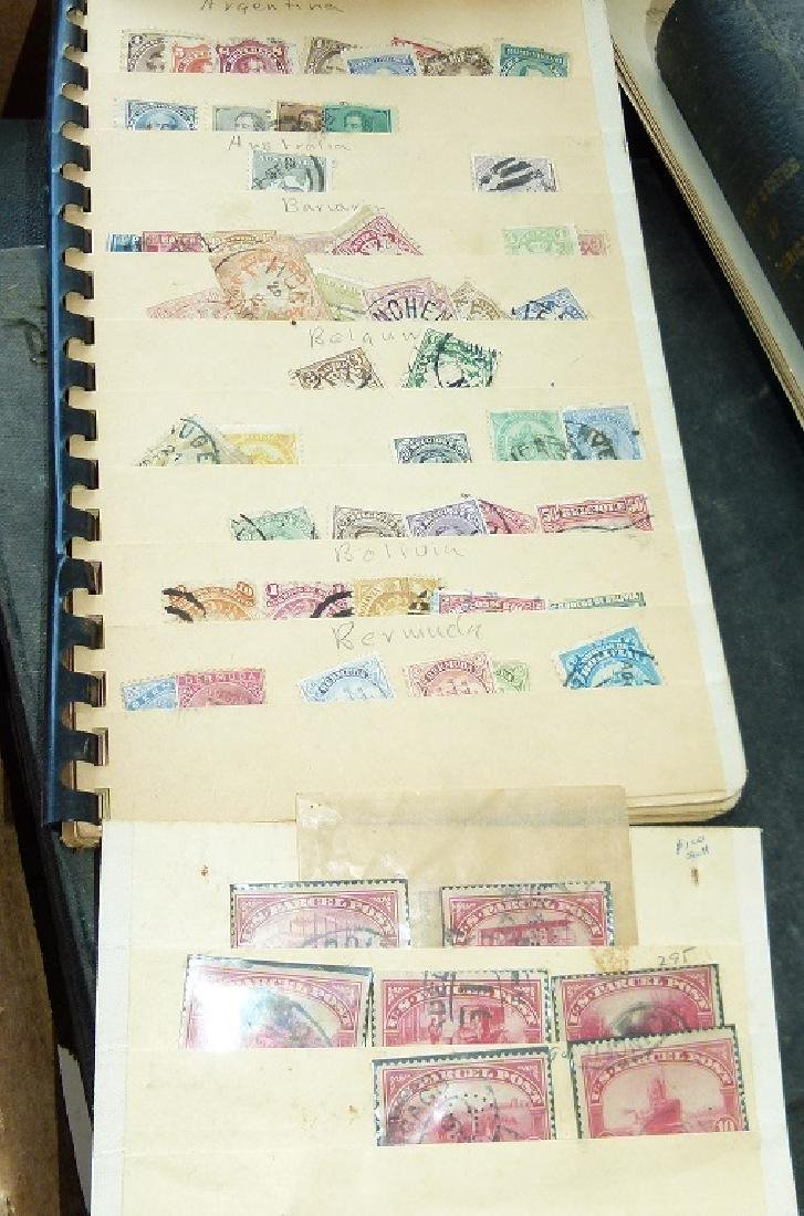 LARGE LOT ASSORTED STAMP STOCK BOOKS, MOSTLY US - 3