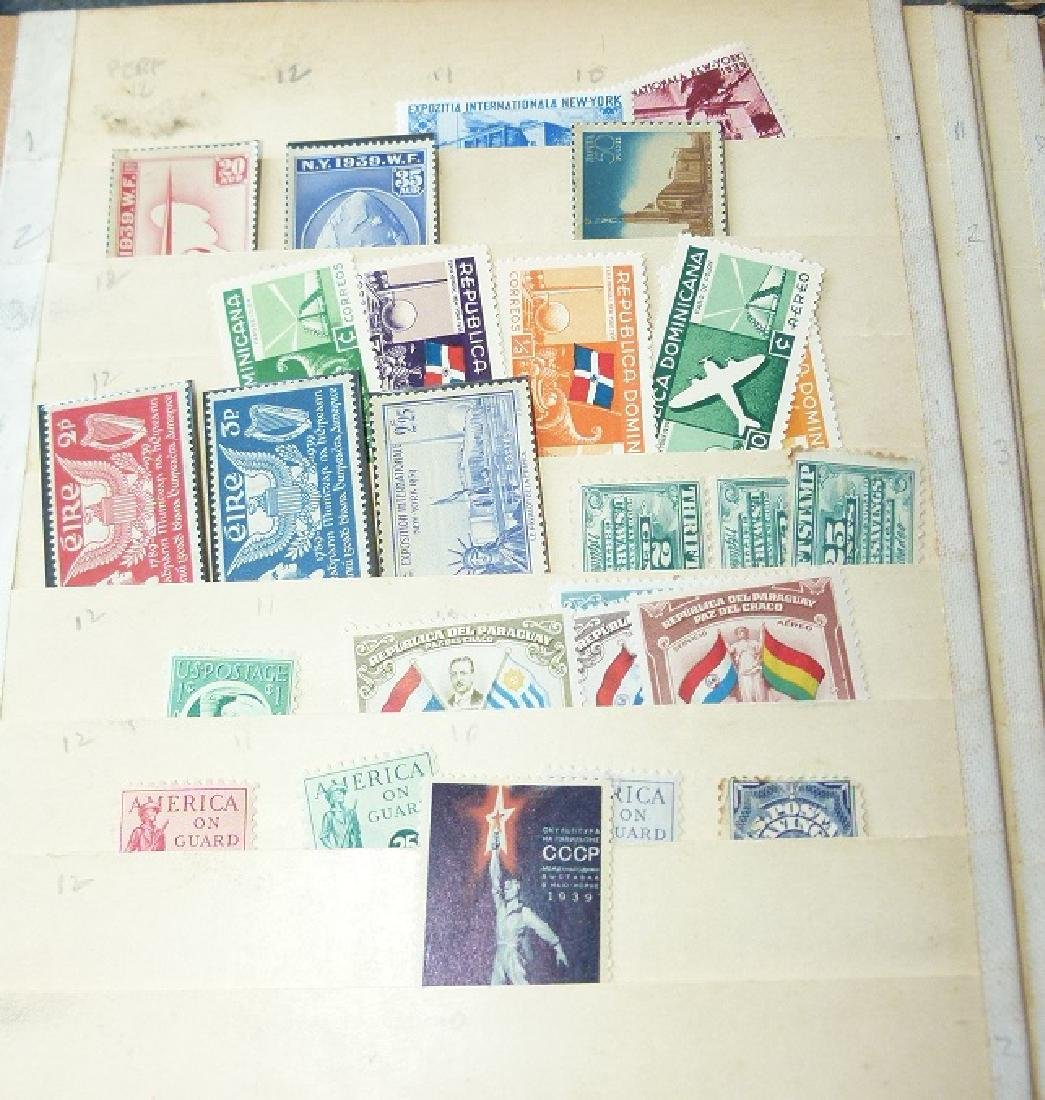 LARGE LOT ASSORTED STAMP STOCK BOOKS, MOSTLY US - 5