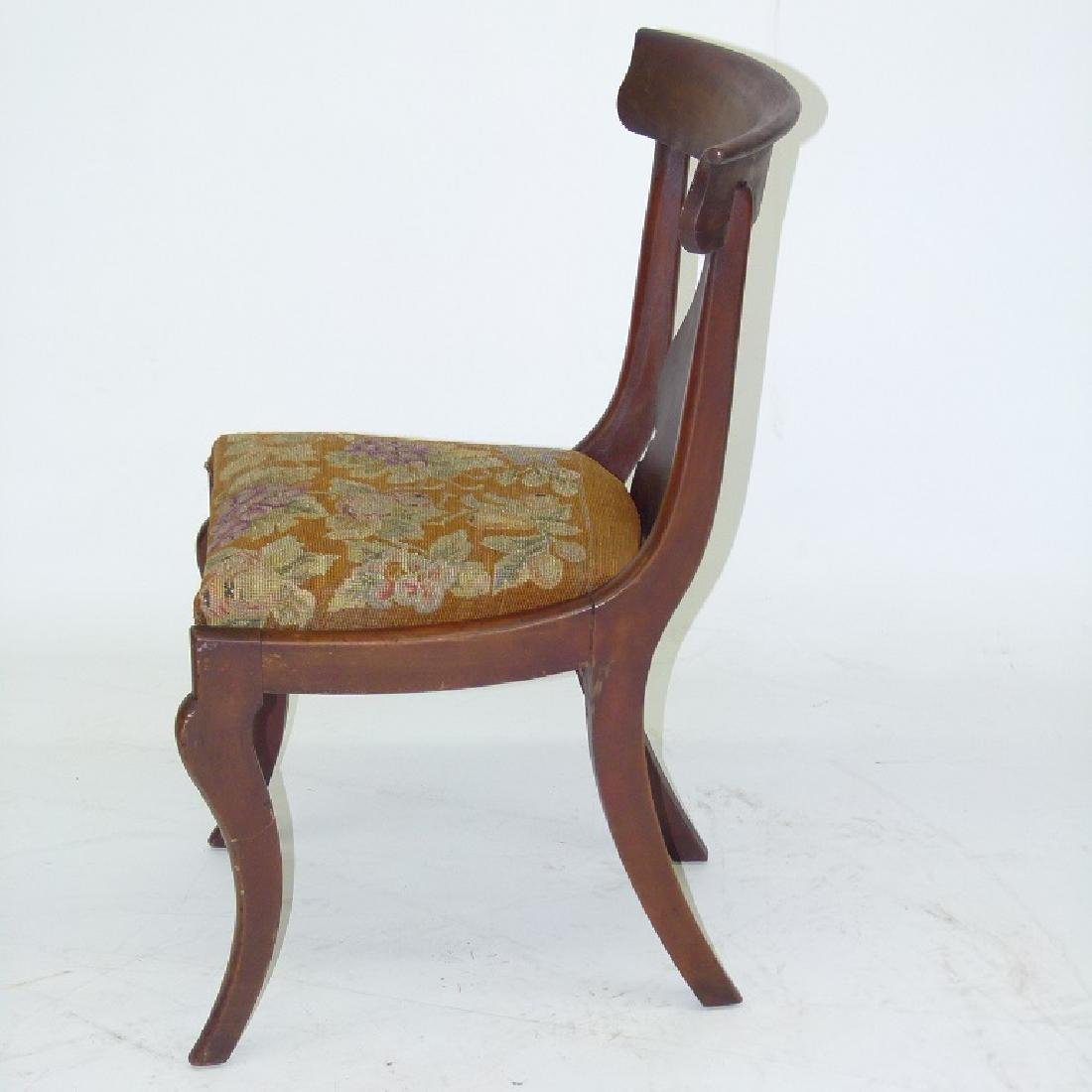 8 PHILADELPHIA CLASSICAL CARVED MAHOGANY CHAIRS - 7