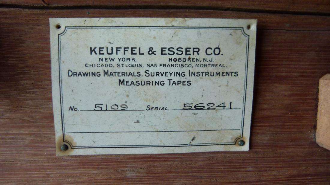 KEUFFEL & ESSER SURVEYORS TRANSIT, 19/20TH C. - 4