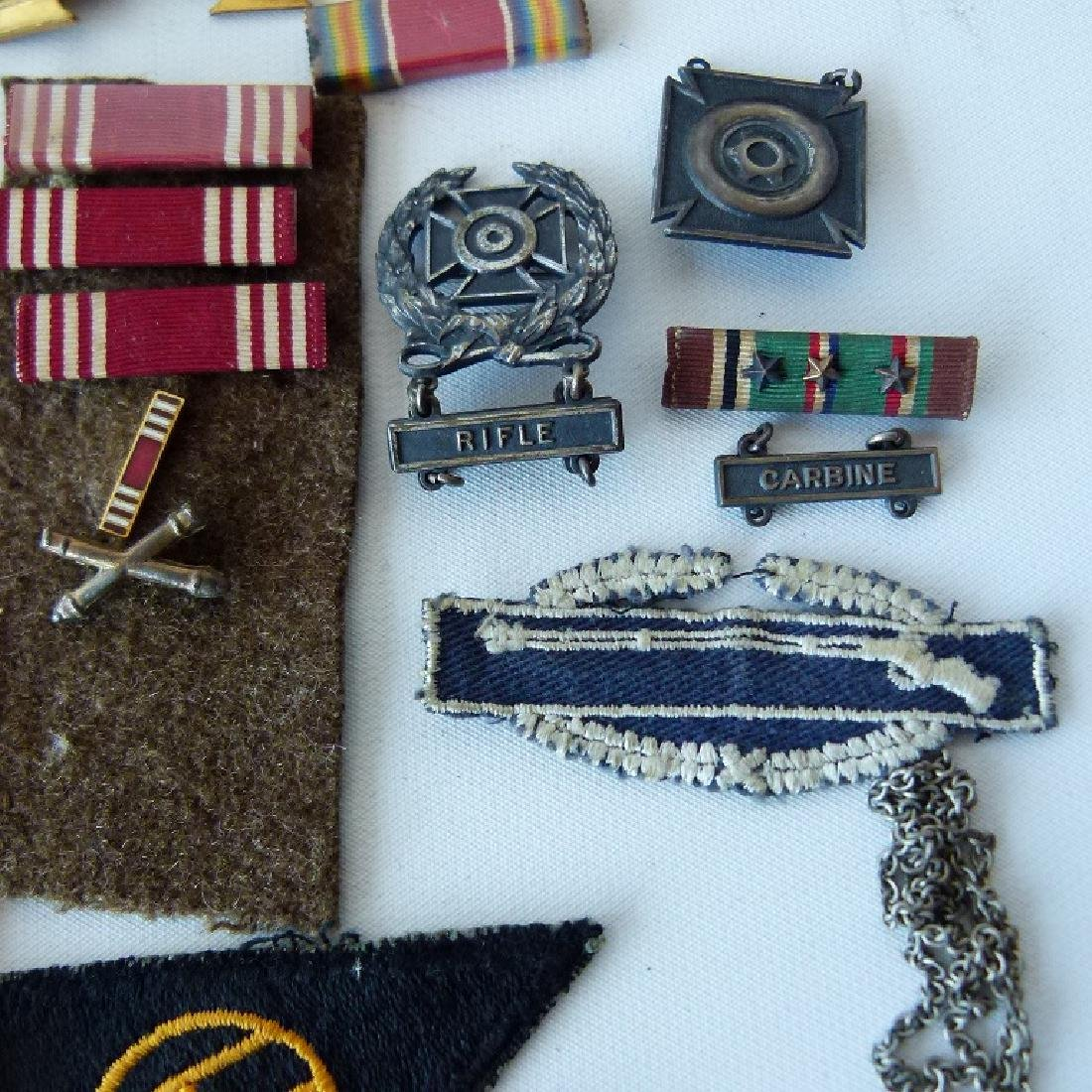 WWII GERMAN/US MILITARY PINS, BUTTONS, BADGES - 6