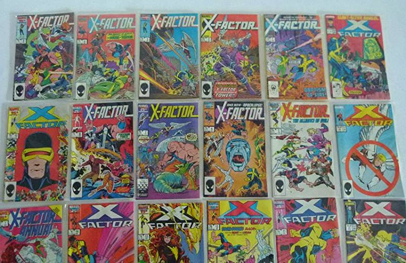 LOT ASSORTED VINTAGE COMICS INCL. X-FACTOR #1-24 - 3