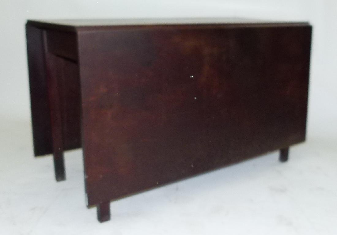 PENN. WALNUT LONG DROP TABLE W/ GATE LEG, C. 1830 - 2