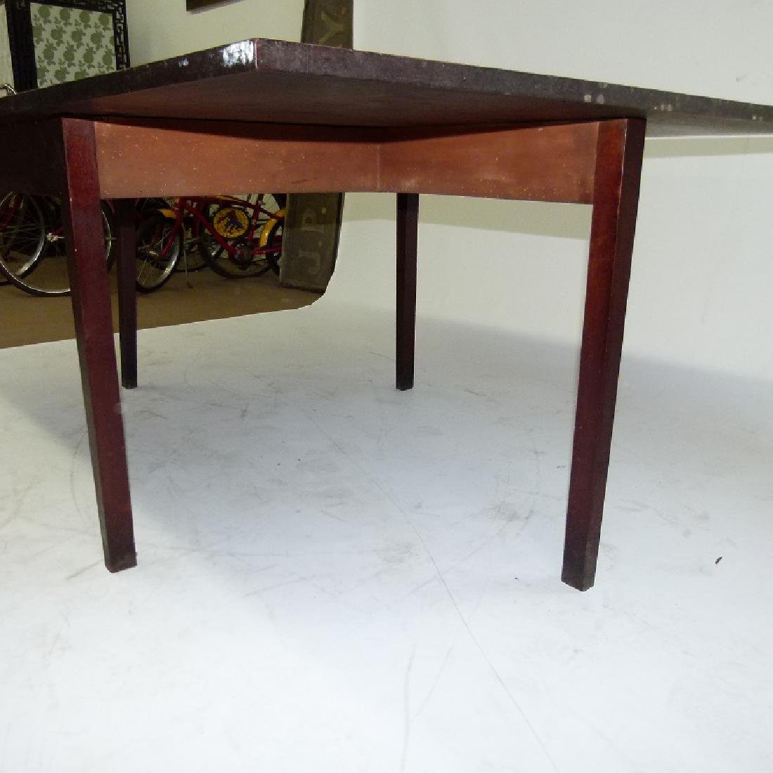 PENN. WALNUT LONG DROP TABLE W/ GATE LEG, C. 1830 - 5