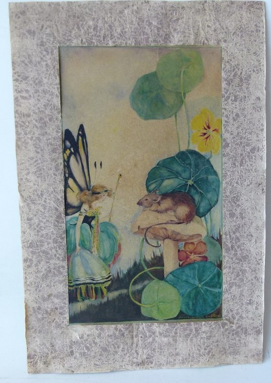 W/C FAIRYLAND SIGNED FRANCES BASSELL COMSTOCK - 2