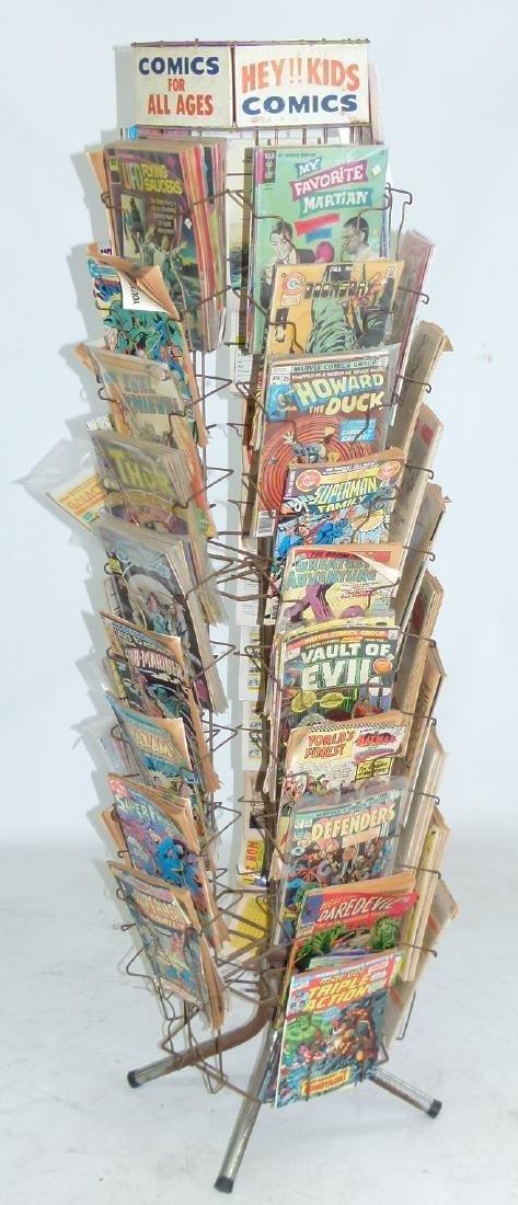 """VINTAGE COMIC BOOK """"MERRY-GO-ROUND"""" W/COMICS"""