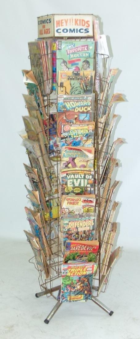 """VINTAGE COMIC BOOK """"MERRY-GO-ROUND"""" W/COMICS - 2"""