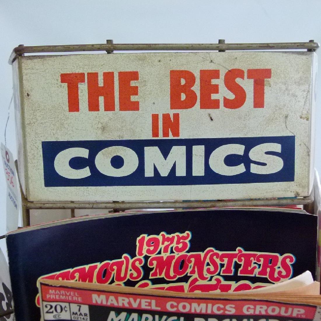 """VINTAGE COMIC BOOK """"MERRY-GO-ROUND"""" W/COMICS - 5"""