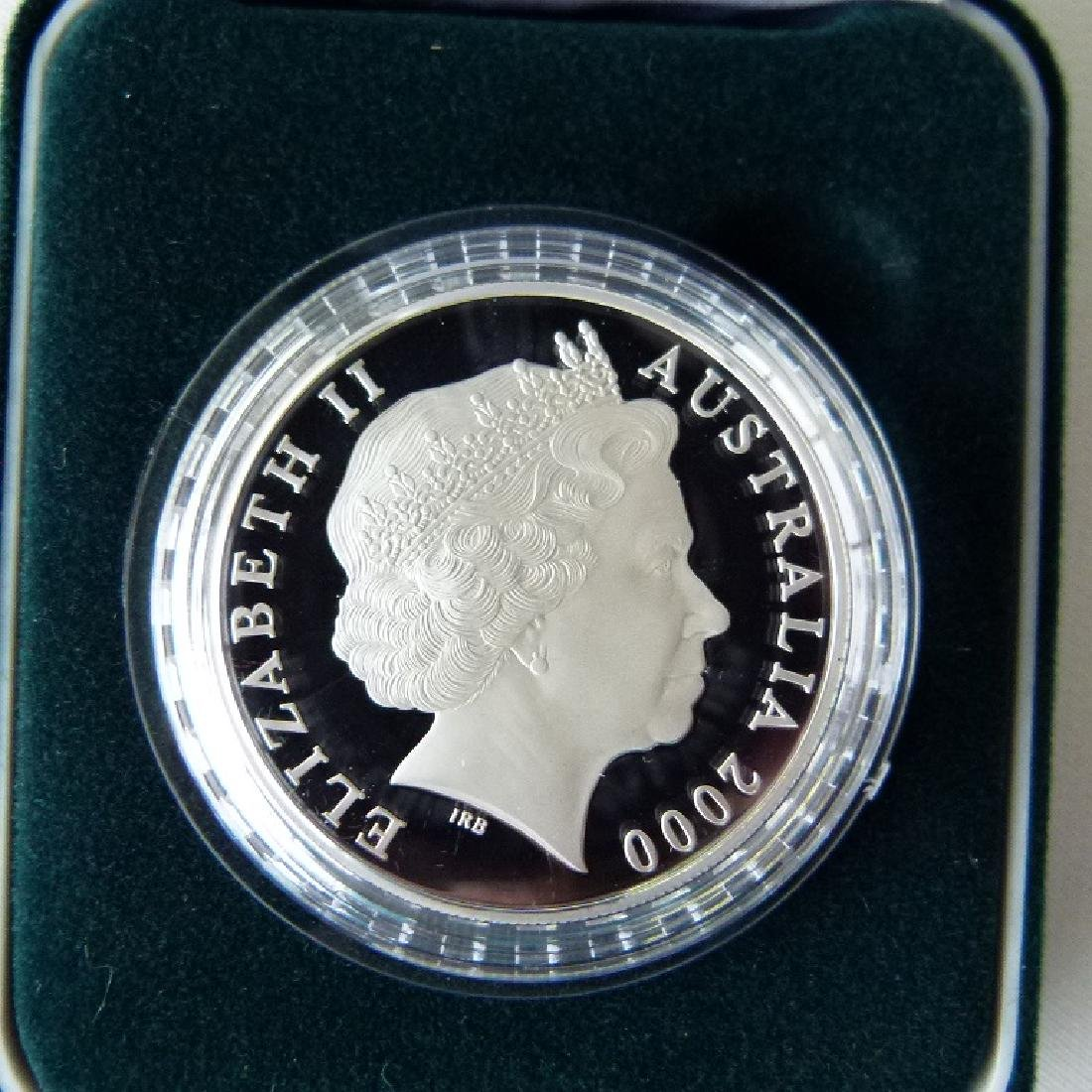 6 COMMEMORATIVE COINS INCL. CHINESE LUNAR COIN - 4