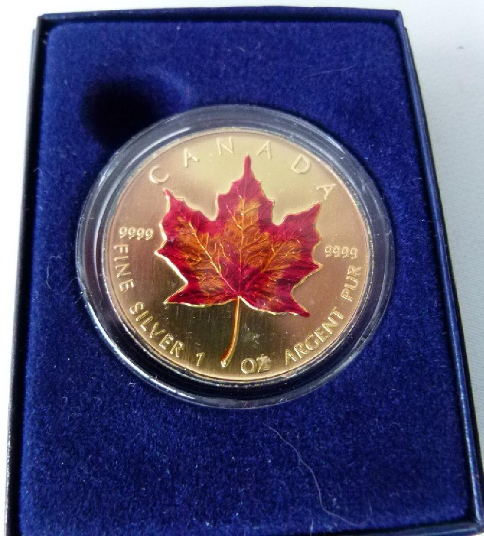 6 COMMEMORATIVE COINS INCL. CHINESE LUNAR COIN - 5