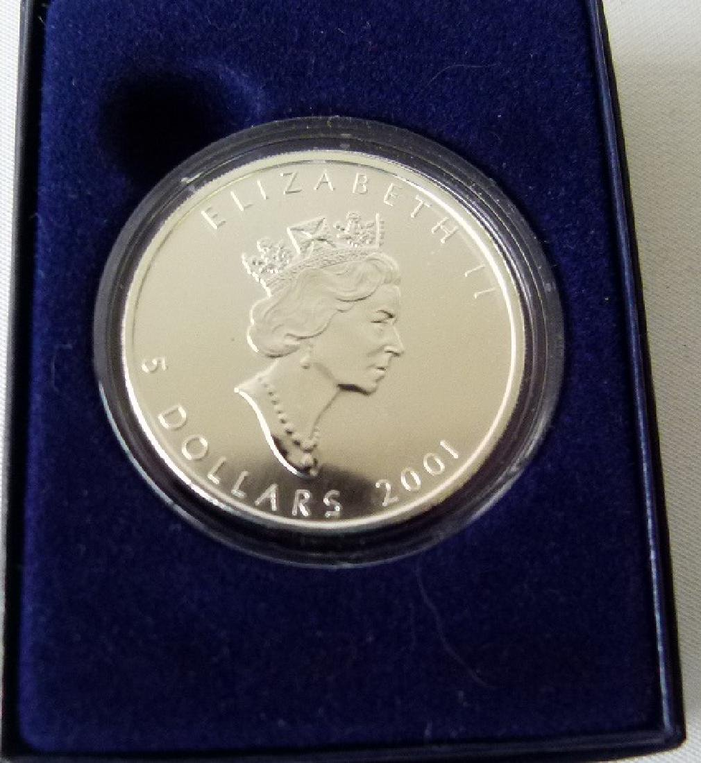 6 COMMEMORATIVE COINS INCL. CHINESE LUNAR COIN - 6