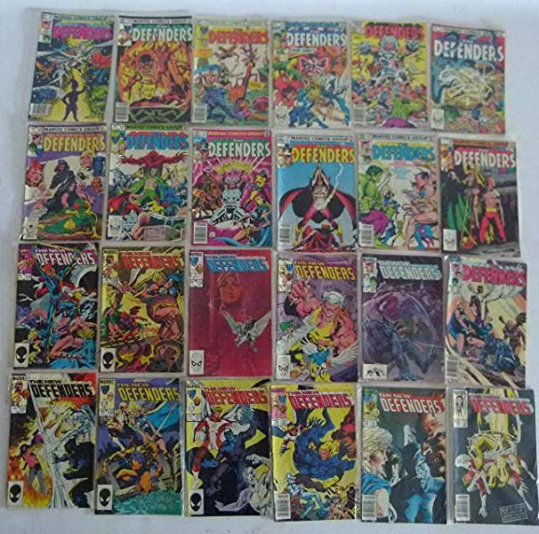 LOT ASST. VINTAGE COMICS INCL THE DEFENDERS #1 - 2