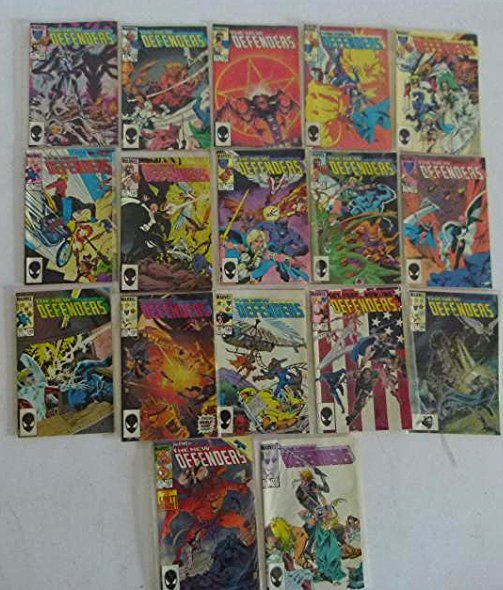 LOT ASST. VINTAGE COMICS INCL THE DEFENDERS #1 - 3