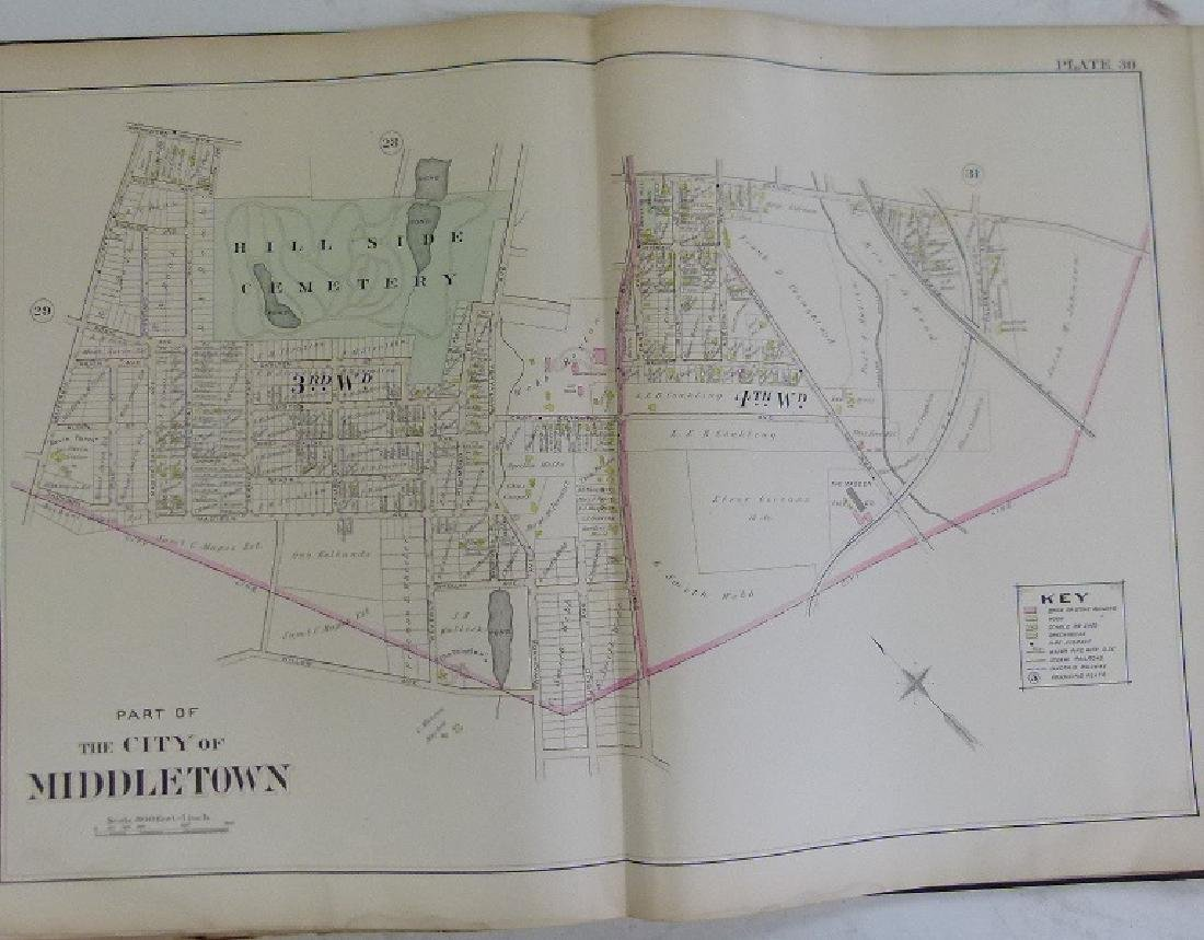 (2)  ATLAS OF ORANGE COUNTY NEW YORK, A.H. MUELLER - 5