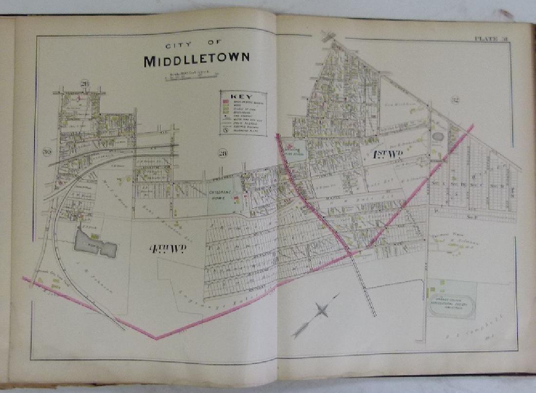 (2)  ATLAS OF ORANGE COUNTY NEW YORK, A.H. MUELLER - 6