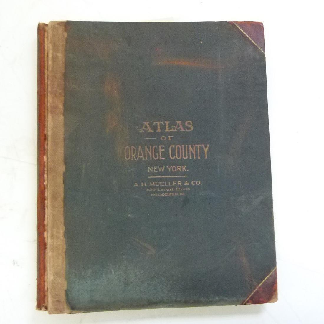 (2)  ATLAS OF ORANGE COUNTY NEW YORK, A.H. MUELLER - 7