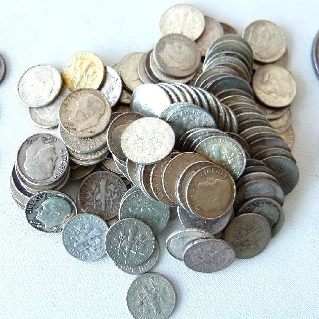 LOT SILVER COIN INCL. MORGAN DOLLAR, KENNEDY - 4
