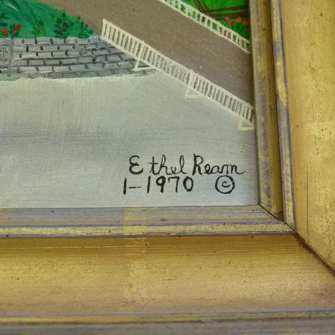 """O/B """"ROCK CREEK FARM"""" SIGNED ETHEL REAM - 3"""