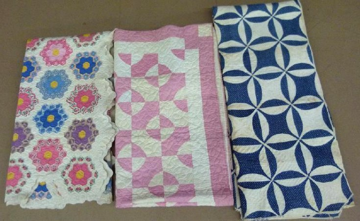 VINT./ANTIQUE QUILTS BY CARRIE HAYWORTH CHAMBERS