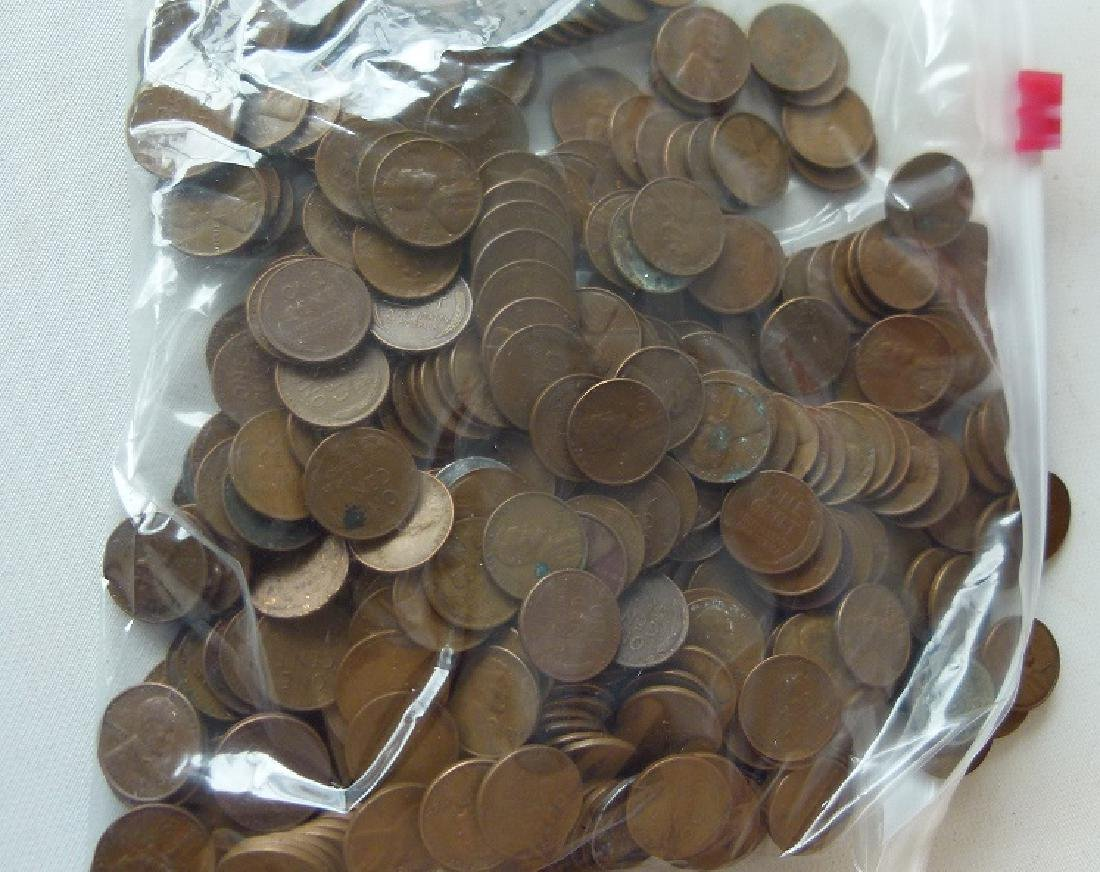 LARGE LOT ASSORTED WHEAT BACK PENNIES - 3