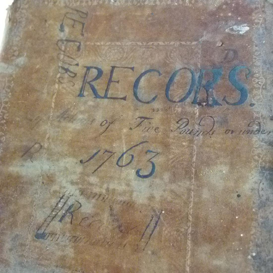 2 DUTCHESS COUNTY, NEW YORK LEDGERS/COURT RECORDS - 2